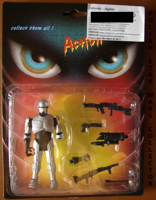 "New Polish Bootleg Figures RoboCop ""2000 Series"""
