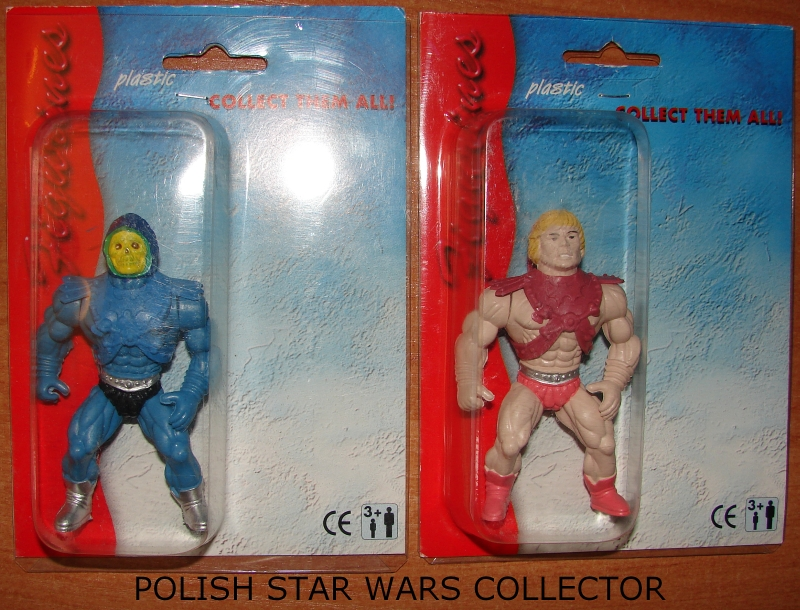 "New Polish Bootleg Figures Carded He-Man ""2000 Series"""
